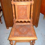 Stuhl Eiche antik